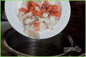 Простая рыбная солянка - фото шаг 7