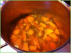Диетический суп из тыквы - фото шаг 4