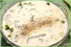 Кефирный суп для похудения - фото шаг 3