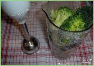 Крем-суп из брокколи и шампиньонов - фото шаг 2