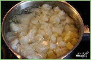 Простой суп-пюре из цветной капусты - фото шаг 3