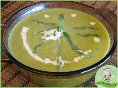 Суп из зеленой спаржи - фото шаг 1