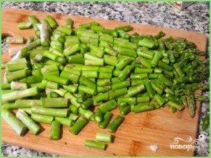 Суп из зеленой спаржи - фото шаг 5
