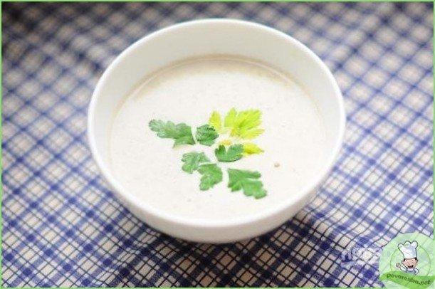 Крем-суп с грибами и сыром - фото шаг 1