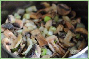 Крем-суп с грибами и сыром - фото шаг 3