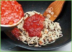 Солянка мясная на сковороде - фото шаг 9