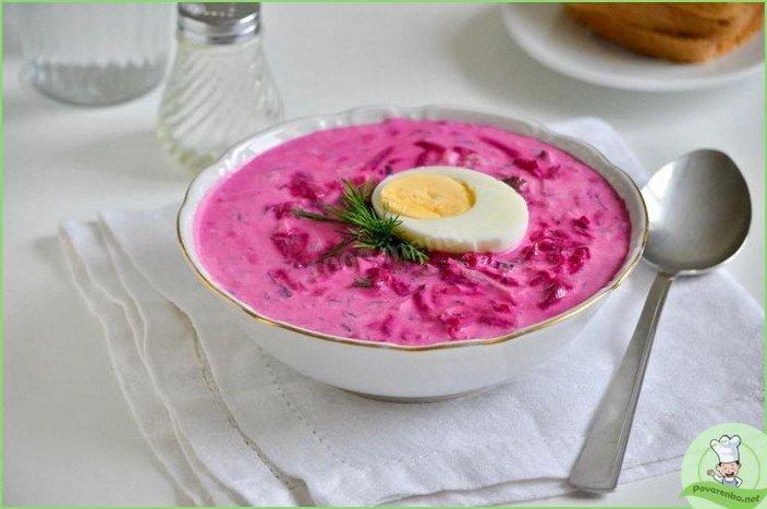 Холодный суп из свеклы - фото шаг 1